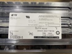 Approximately 5,200 x TE Connectivity 5103308-5 20 Connector/2 Row Wire to Board Pin Headers
