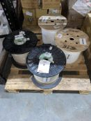 4 x Various 2,000/10,000m Reels of TE Connectivity Raychem Harsh Environment Wire
