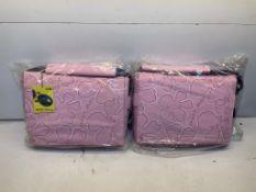 """25 x Orkio 0914001 15.4"""" Urban Laptop Messenger Bags in Pink"""