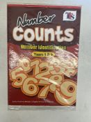 Approximately 100 x TTS Publishing PB00102 Years 1 & 2 'Number Counts - Number Identification' Textb