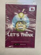 Approximately 80 x TTS Publishing PB00116 Age 5-11 'Lets Think' Textbooks
