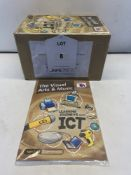 Approximately 180 x TTS Publishing PB00019 Age 7-13 'Learning Journeys With ICT - The Visual Arts &