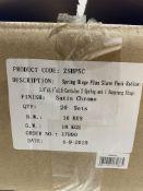20 x Zoo Hardware - ZSHPSC Spring Hinge Plus Slave Pack   RRP £170