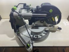 Festool Sliding compound mitre saw KAPEX KS 120 REB 240V   RRP £1,100
