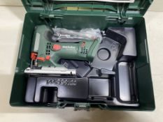 Metabo STA18LTX100 18v Li-ion Body Grip Jigsaw Bare Unit and Metaloc