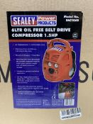 Sealey Compressor   SAC106B   RRP £165