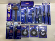 Mixed Lot Of Various Faithfull Tools & Accessories   RRP £187.49