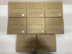 8 x Zoo Hardware - ZAA030SA 19mm Door Handles   Total RRP £75.76