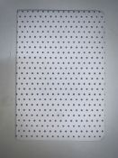 28 x A5 White Dotted Pattern Square Hardback Notebooks