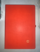24 x A5 Hardback Orange Dot Notebooks