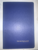 34 x A5 Blue Undated Planners
