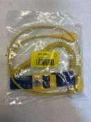 32 x RS Pro 10mm Stud ESD Grounding Wrist Strap & Cord Sets