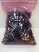 Approximately 700 x Black Plastic Clips