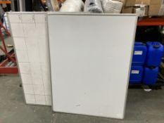 2 x White Boards | 90cm x 120cm