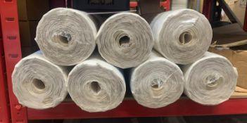 7 x Rolls Of Wall Design Textured Wallpaper