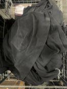 Length Of Black Elasticated Fabric