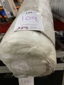 2M Roll of White Fabric