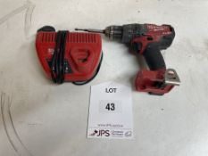 Milwaukee M18 FPD Cordless Combi Drill w/ Charger | NO BATTERY
