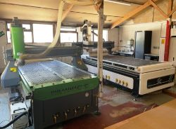 Woodworking Machinery, Equipment & Stock | 2 x CNC Routers - 2018 & 2020 | Sanders | Panel Saw | Compressor | Fence Panel Machine | Forklift