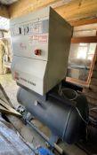 Gardner Denver Ese 11 Screw Compressor w/ Refrigeration Dryer | 2 x Filters | HPC Power Supply