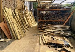 Quantity of Wood Stock | As Pictured (Side of Unit) | Racking Included