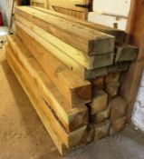 Quantity of Wood Stock & Metal Sheeting | As Pictured (Inside Unit)