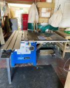Scheppach Forsa 4.0 Panel Saw w/ Double Bag Dust Extractor