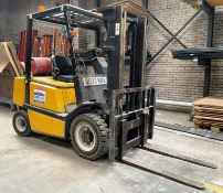 Yale FG25PVIF2 2.5T Gas Forklift | Hours: 6,181