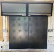 2 x Sealey Superline Pro 680mm Modular Wall Cabinet w/ 2 x Back Panels