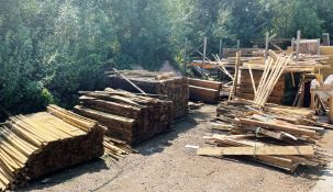 Quantity of Wood Stock | As Pictured (Rear of Unit) | Racking Included