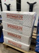Approximately 64M of SpotNails 6516SG 2.1 x 27mm Ring Galvanised Wire Coil Nails