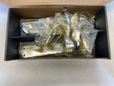 4 x DL291CP Carlisle Brass Madrid Lever Latch Furniture   RRP £115