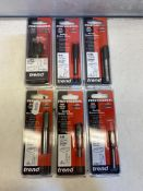 6 x Various Trend Bits & Tool Aaccessories   Total RRP £157
