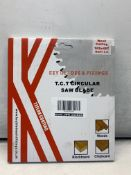 5 x Keyblades & Fixings 162mm x 20mm x 48 Tooth Mafell Fitment T.C.T Circular Saw Blades   RRP £190