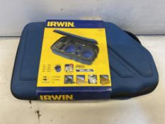 2 x Irwin Bi-metal Holesaw Kit 400 SE   RRP £178