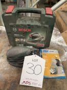 Bosch PSM 80 A Set Multi Sander in Case w/ Spare Sanding Sheets