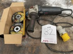 Bosch GWS 9-115 Professional Angle Grinder w/ Quantity of Spare Discs