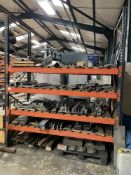 Quantity of Various Pressbrake Tooling as Pictured | RACKING INCLUDED