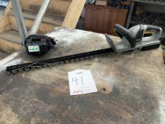 Titan TTI548HDC Cordless Hedge Trimmer w/ Charger | YOM: 2019
