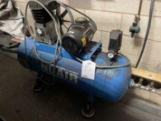 NuAir B3800B/150 FT3 150L Air Compressor | YOM: 2016