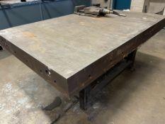 Cast Iron Surface Table | Size: 180cm x 120cm x 78cm