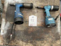2 x Avdel Air/Hydraulic Riveters