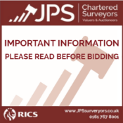 IMPORTANT INFORMATION - PLEASE READ BEFORE BIDDING
