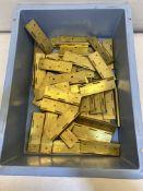 55 x Brass Hinges   40mm x 23mm