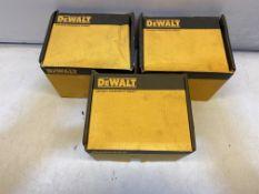 3 x DeWalt DFM1410360 BLUETIP2-BT10x100 Hex Hd ScrewBolt-ZnPlt 50pk