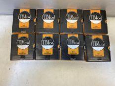 8 x TIMCO SOLO WOODSCREW 35 X 4.5MM (200 PER BOX)