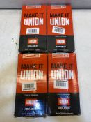 4 x Union Mortice Bathroom Lock