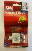 8 x ERA Sash Window Bolt   80412   RRP £168