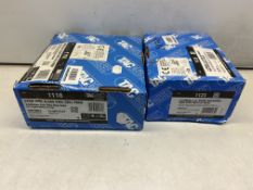 2 x Boxes Of Various Tacwise Strip Nails