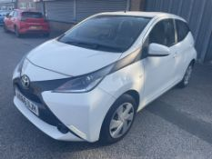 Toyota Aygo X-Play VVT-1 5 Door Petrol Hatchback   AO66 UJH   22,540 Miles